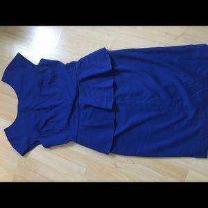 Banana Republic Peplum Dress. Size 12. New